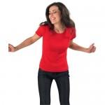 Женские футболки для промо оптом