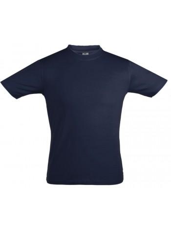 Футболка мужская Unit Stretch 190 темно-синяя оптом