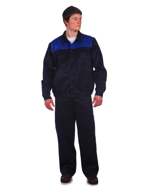 Рабочий костюм Стандарт 2 темно-синий
