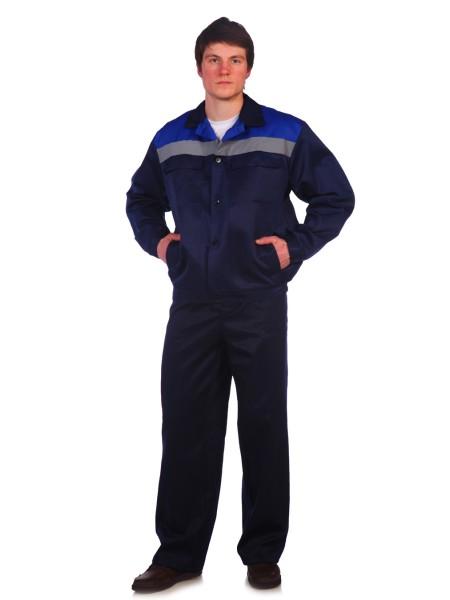 Рабочий костюм Стандарт 2 СОП темно-синий