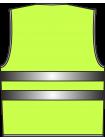 Жилет сигнальный SV20-Оксфорд лимонный оптом