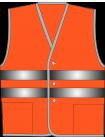 Жилет сигнальный SV20-Оксфорд оранжевый оптом