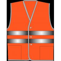 Жилет сигнальный SV20-Оксфорд оранжевый