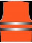 Жилет сигнальный SV20-сетка оранжевый оптом