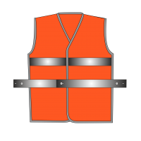 Жилет сигнальный SV50-Оксфорд оранжевый
