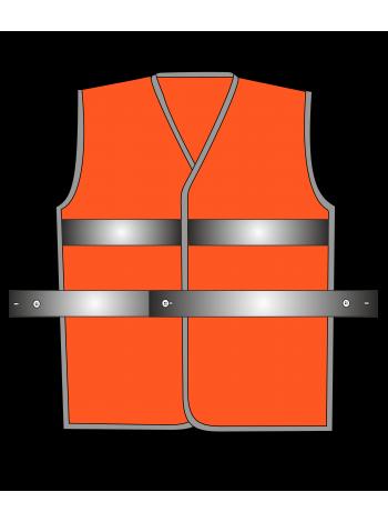 Жилет сигнальный SV50-Оксфорд оранжевый оптом