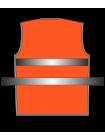 Жилет сигнальный SV50-сетка оранжевый оптом