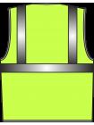 Жилет сигнальный SV612-Оксфорд лимонный оптом