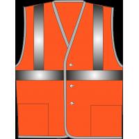 Жилет сигнальный SV612-Оксфорд оранжевый