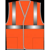 Жилет сигнальный SV62-Оксфорд оранжевый