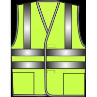 Жилет сигнальный SV83-Оксфорд лимонный