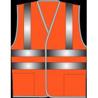 Жилет сигнальный SV83-Оксфорд оранжевый