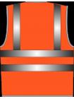 Жилет сигнальный SV83-сетка оранжевый оптом