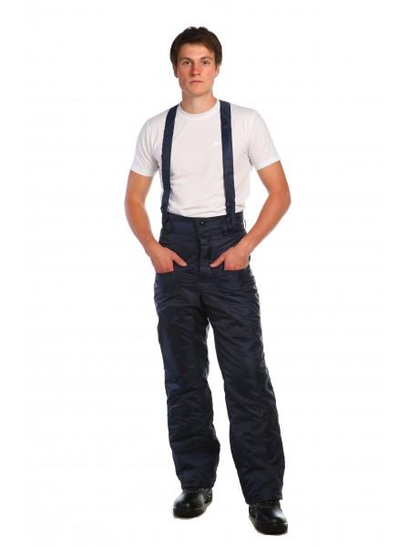 Рабочие брюки Гастарбайтер темно-синие