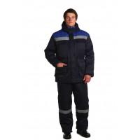 Рабочий костюм Буран СОП темно-синий