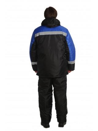 Рабочая куртка Гастарбайтер темно-синяя
