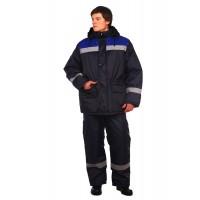 Рабочая куртка Стандарт темно-синяя