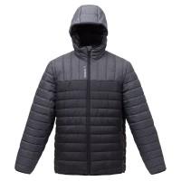 Куртка мужская Outdoor, серая с черным
