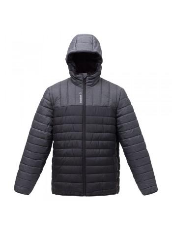Куртка мужская Outdoor, серая с черным оптом