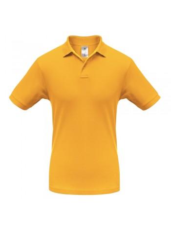Рубашка поло Safran желтая оптом