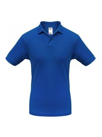 Рубашка поло Safran ярко-синяя оптом