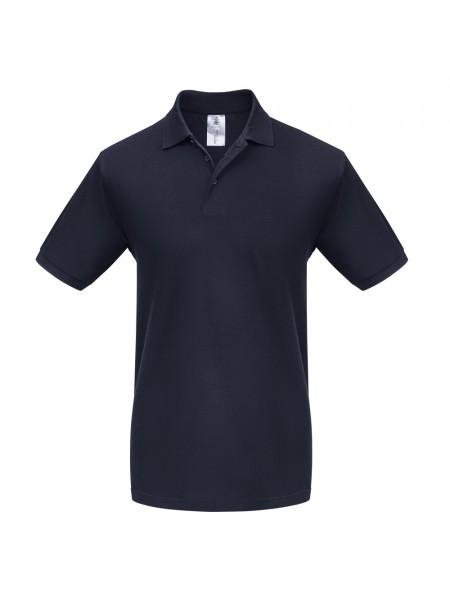 Рубашка поло Heavymill темно-синяя