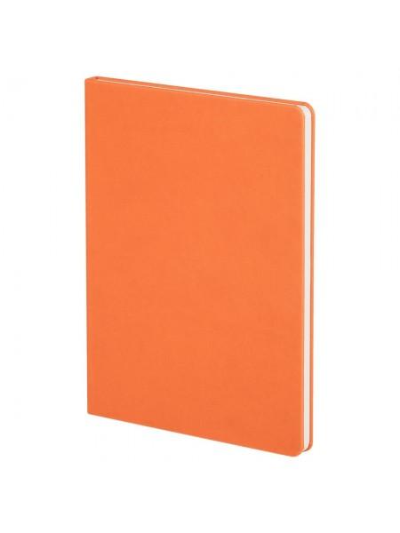 Блокнот Scope, в линейку, оранжевый