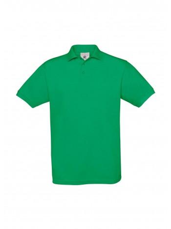 Рубашка поло Safran зеленая оптом