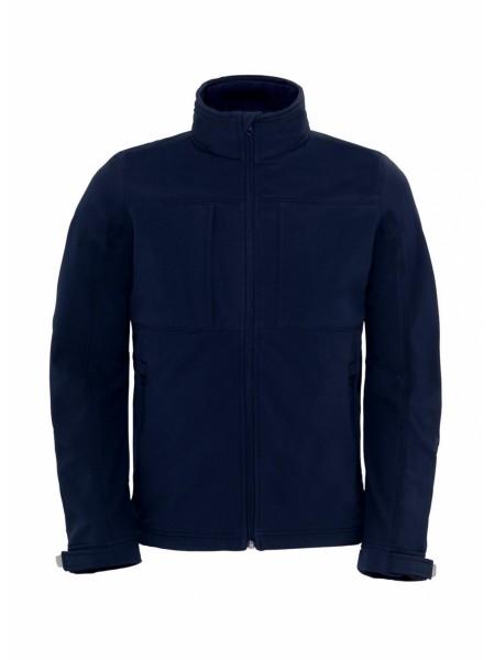 Куртка мужская Hooded Softshell темно-синяя