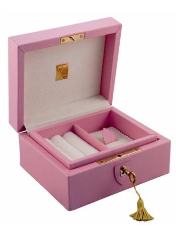 Шкатулка для драгоценностей LIVERPOOL, розовая оптом