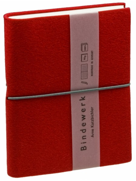 Книга для записей FELTBOOK, красная