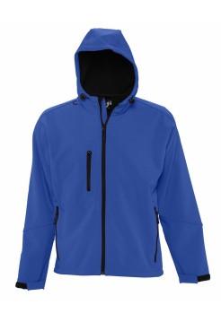 Куртка мужская с капюшоном Replay Men 340, ярко-синяя
