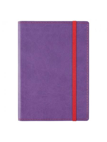 Блокнот Vivid Colors в мягкой обложке, фиолетовый