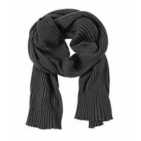 Палантин Mono, черно-серый