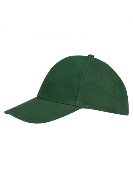 Бейсболка BUFFALO, темно-зеленая