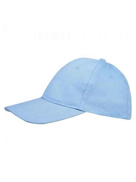 Бейсболка BUFFALO, голубая