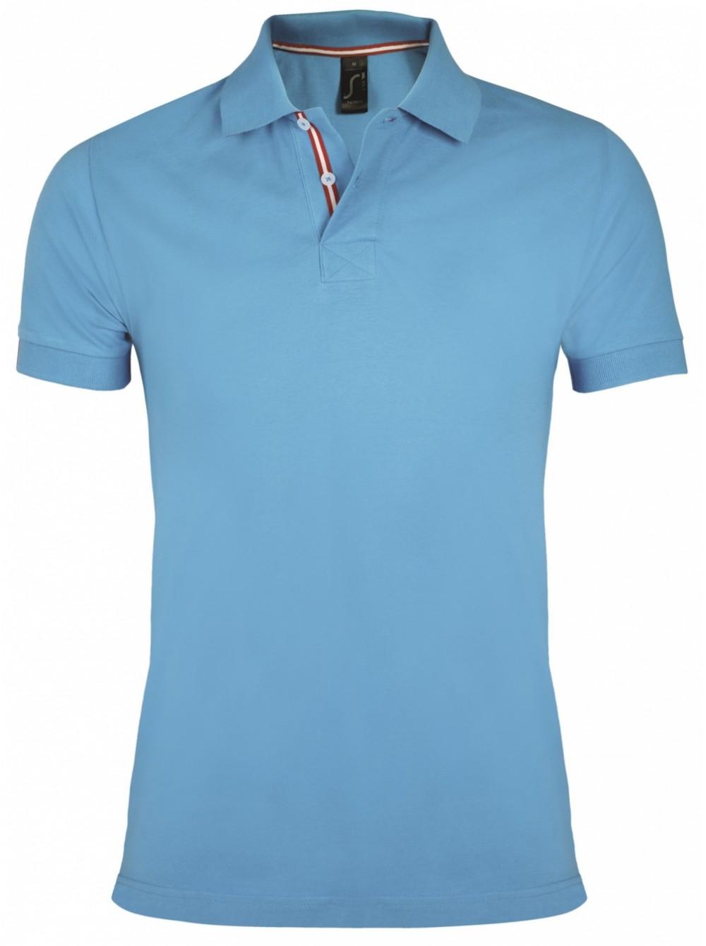 7ed92814873658e Рубашка поло мужская PATRIOT 200, голубая Sol's купить оптом 1361 ...