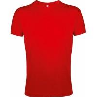Футболка мужская приталенная REGENT FIT 150, красная