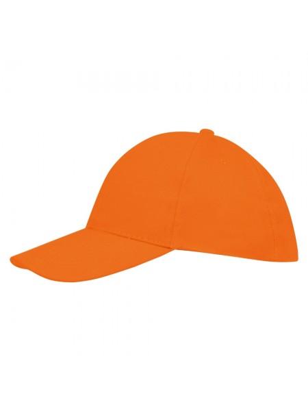 Бейсболка BUFFALO, оранжевая