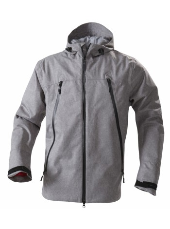 Куртка мужская JACKSON, серый меланж оптом
