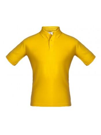 Рубашка поло Unit Virma, желтая оптом