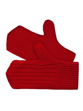Варежки Comfort Fleece, красные оптом