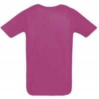 Футболка унисекс SPORTY 140, розовый неон