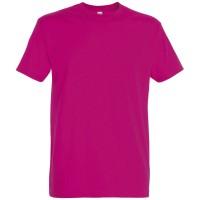Футболка IMPERIAL 190, ярко-розовая (фуксия)