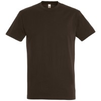 Футболка IMPERIAL 190, шоколадно-коричневая