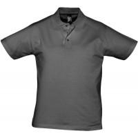 Рубашка поло мужская Prescott Men 170, темно-серая
