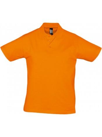 Рубашка поло мужская Prescott Men 170, оранжевая оптом