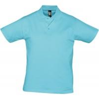 Рубашка поло мужская Prescott Men 170, бирюзовая