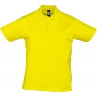 Рубашка поло мужская Prescott Men 170, желтая (лимонная)