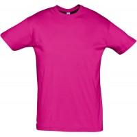 Футболка REGENT 150, ярко-розовая (фуксия)